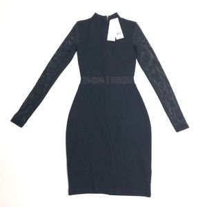 $178 Size 0 French Connection Dress Bette Jersey M